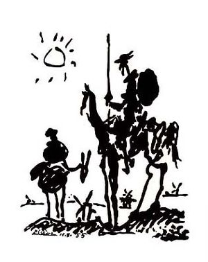Don quijote picasso
