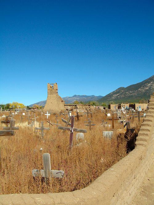 Pueblo_cemetary